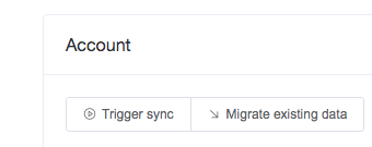 run sync for an account